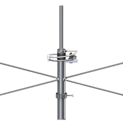 Promoção antena vhf fm 2x5/8 de onda 6db steelbras -