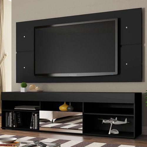 Rack com painel para tv at/u00e9 65 polegadas madesa london