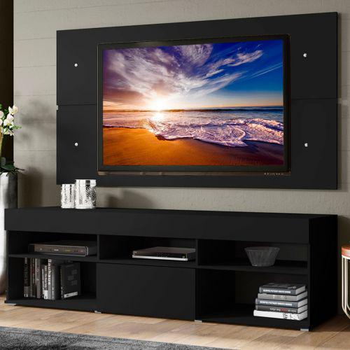 Rack com painel para tv at/u00e9 65 polegadas madesa miami 1