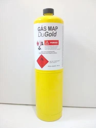 Refil cilindro gás mapp pro 400g p/ maçarico portatil