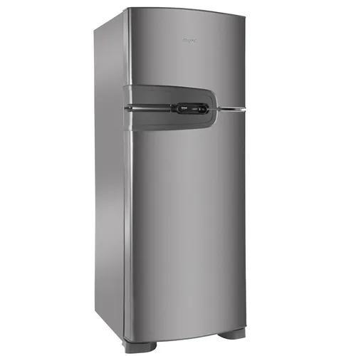 Refrigerador consul duplex frost free platinum 340l 220v