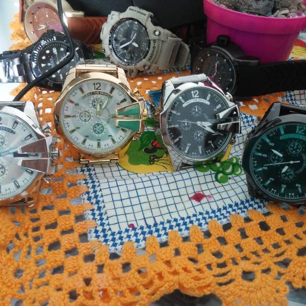 Relógio estilo diesel