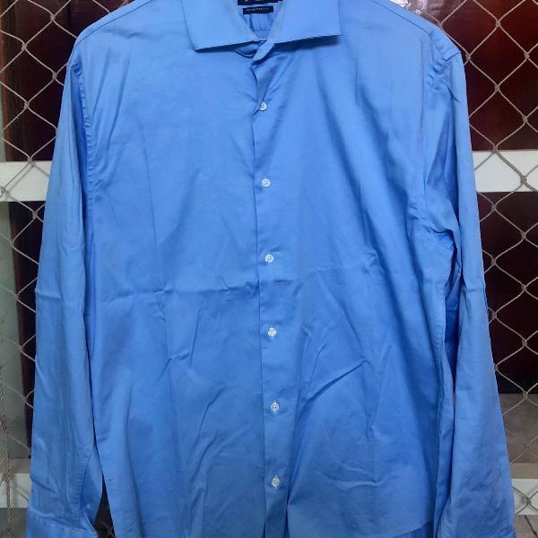 Camisa azul claro navaratti tamanho 6