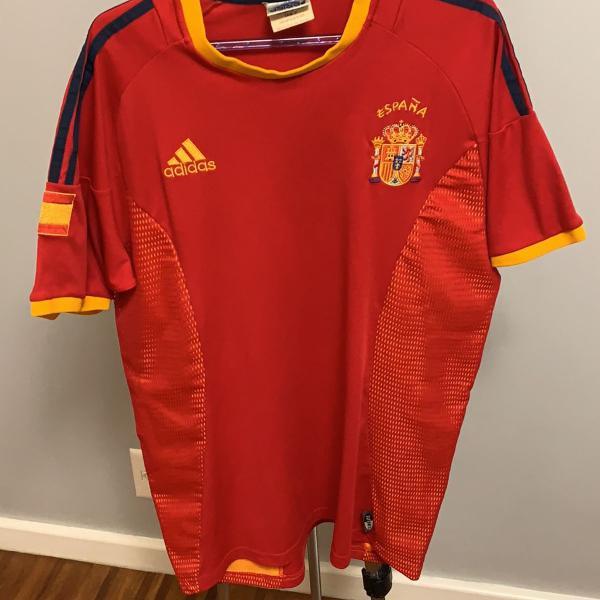 Camisa espanha copa 2002