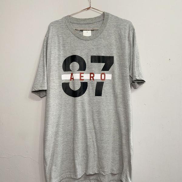 Camiseta cinza aeropostale nova gg