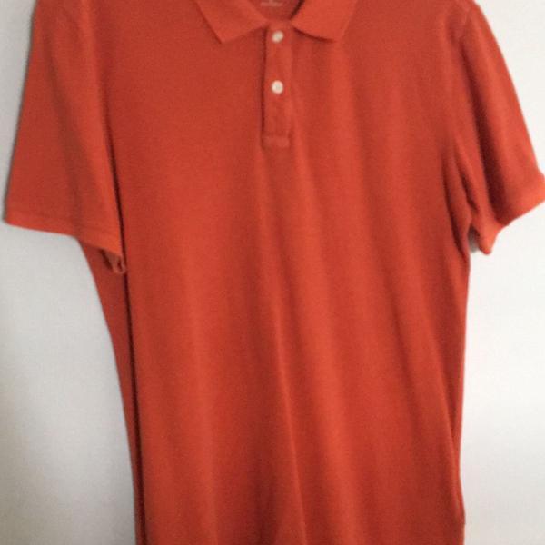 Camiseta polo gap masculina manga curta