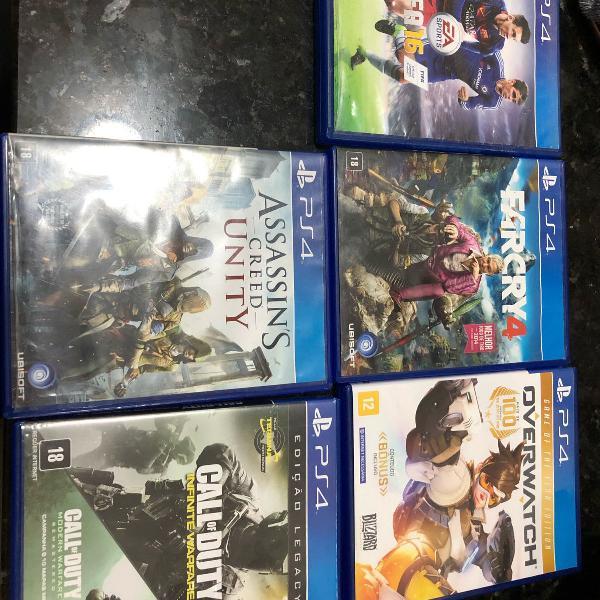 Jogos para vídeo game ps4