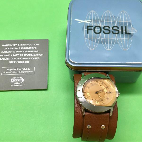 Relógio unissex fóssil jr 9764