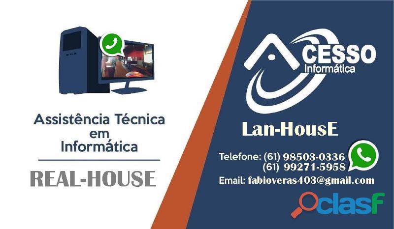 Lan house samambaia norte df