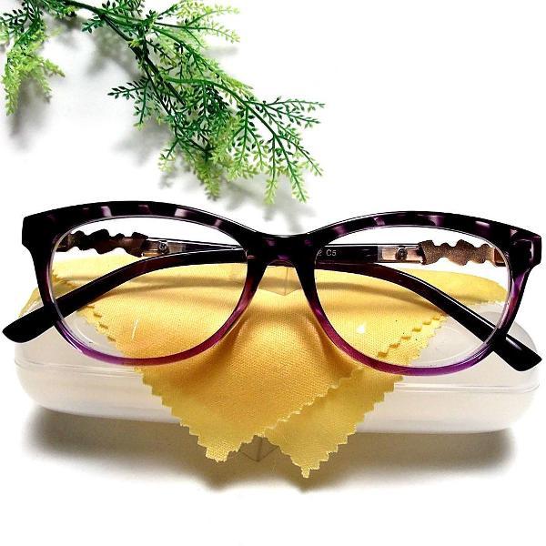 Armação óculos gatinho retro