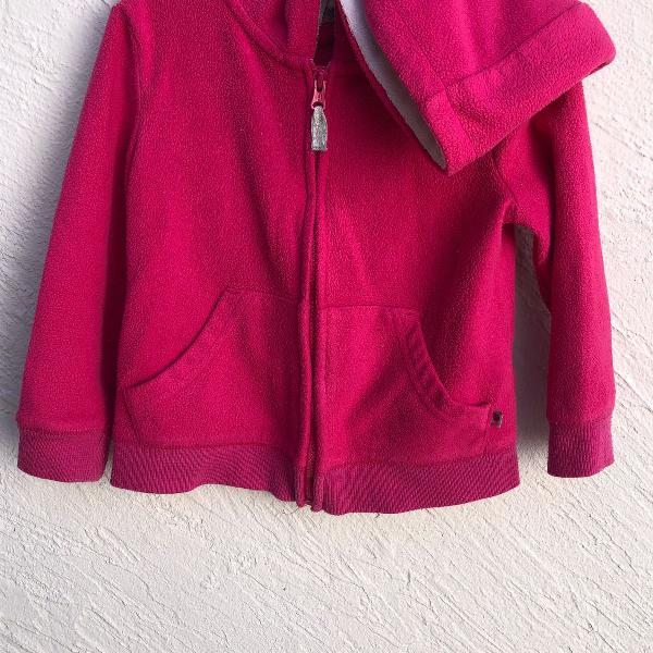 Blusa de frio carters com capuz (tam 2t)