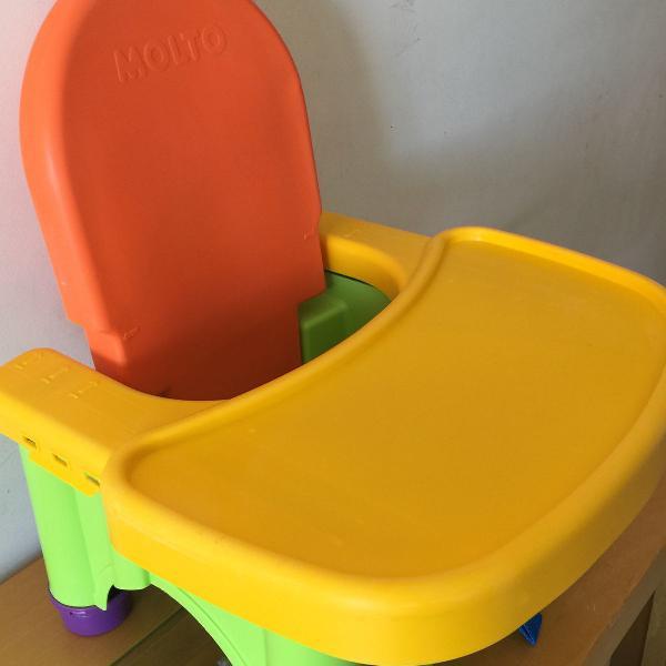 Cadeirão/cadeira alimentação dobrável portátil