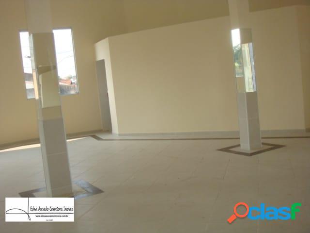 Salão comercial com 165m², 05 wc's, jd. rina, santo andré, sp.