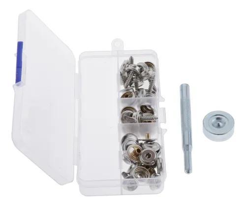 15sets botão de pressão de lona fixador de lona móveis co