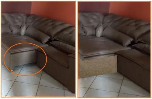 2 arranhadores assento retrátil do sofá com placa mdf 6mm