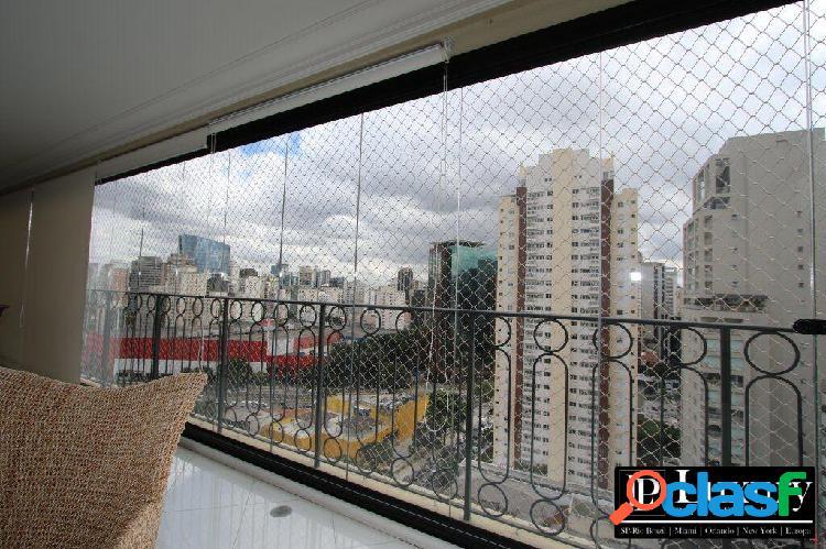 Apartamento a venda no edifício paris no itaim bibi com 280m²