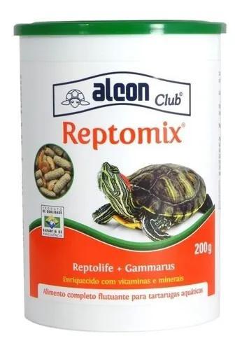 Alcon reptomix tartaruga 200g ração alimento