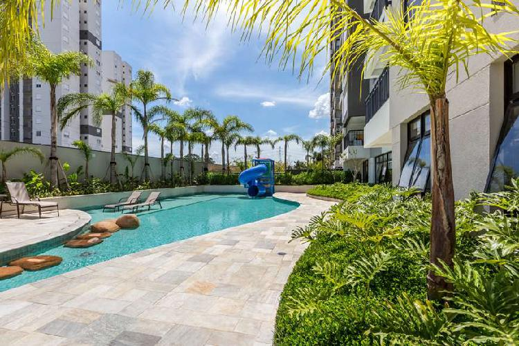 Apartamento para venda possui 61 metros quadrados com 2