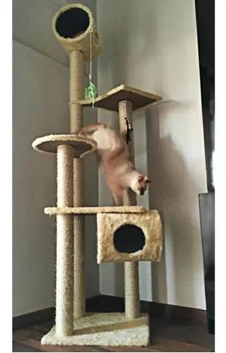 Arranhador de gato castelo 2,05m