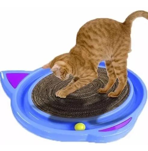 Brinquedo arranhador com bolinha cat crazy para gatos