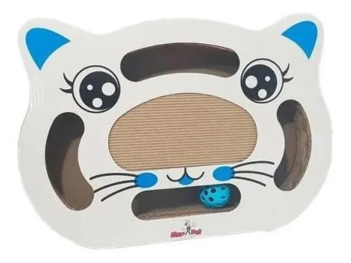 Brinquedo de gatos arranhador papelão c/ bolinha p/ gato