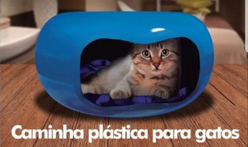 Casinha cama toca gato filhotes formato de donuts rosquinha