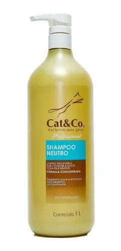 Cat & co shampoo neutro filhotes para gatos 1 l