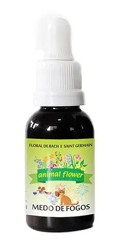 Floral gotas medo de fogos animal flower 30ml