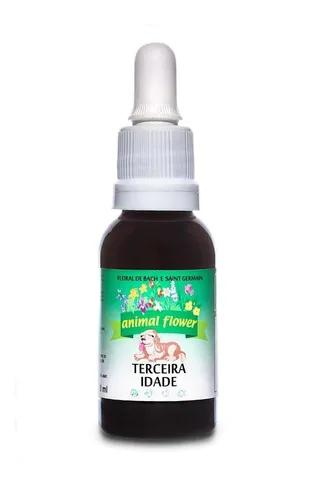 Floral gotas terceira idade animal flower 30ml