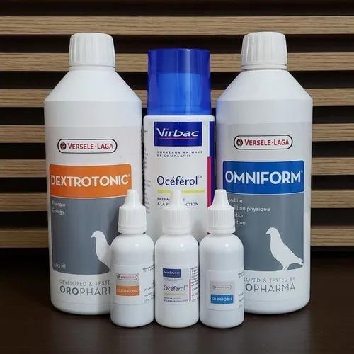 Kit super torneio omniform+dextrotonic+oceferol 10ml cada