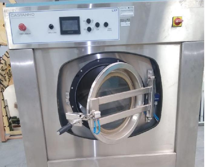 Lavadora extratora industrial 50kg automatica (nova sem uso)