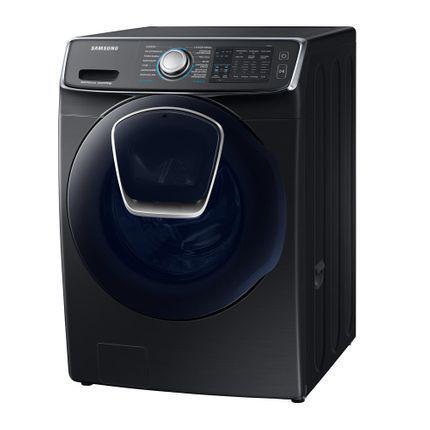 Lavadora de roupas samsung wd16n8750kv 16 kg preto - 127 v