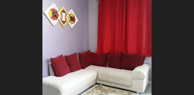 Linda casa com todos os móveis planejados, no conjunto