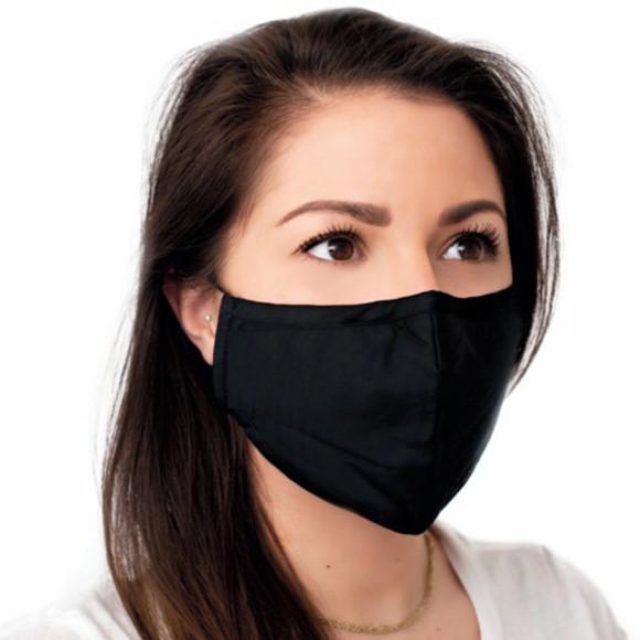 Máscara em tecido feminina tricoline 100% algodão