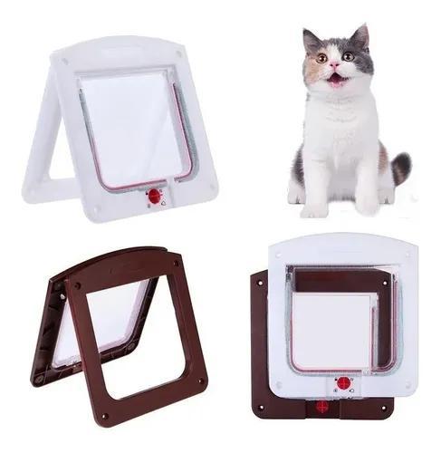 Porta pet para cães e gatos até 7kg com trava 4 funções