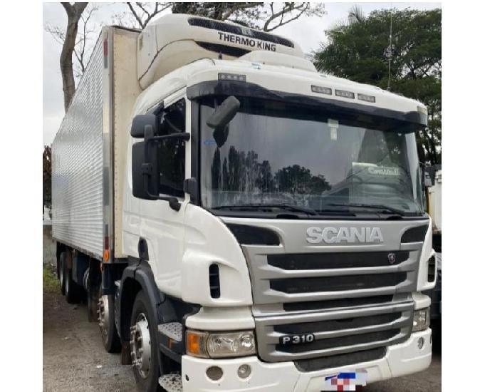 Scania p310 8x2 vendo a prazo