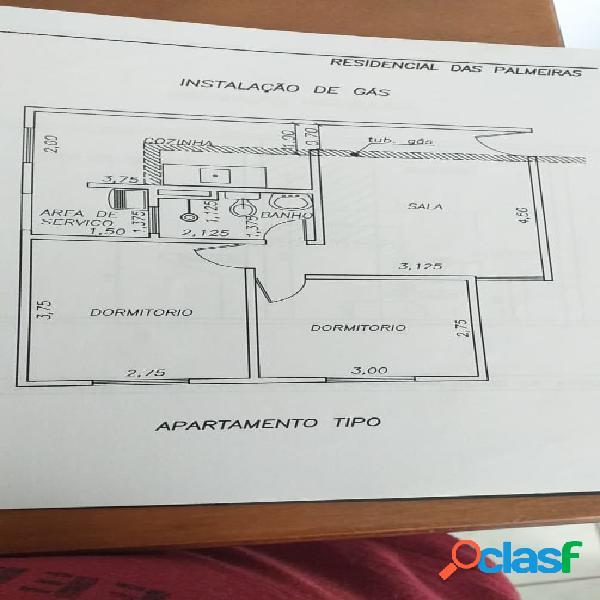 Belo apartamento zona norte próximo a cooper (residencial das palmeiras