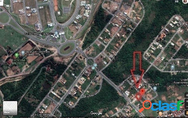 Vendo terreno quitado no bairro tropicalville