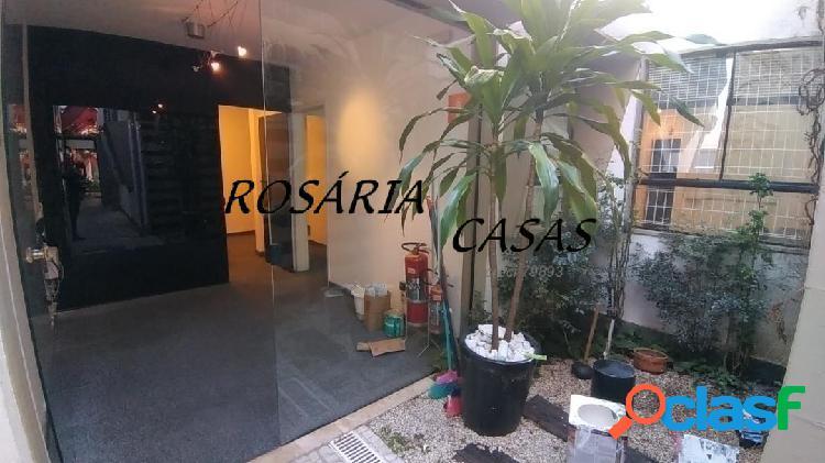 Vila madalena- conjunto comercial com 4 salas para locação
