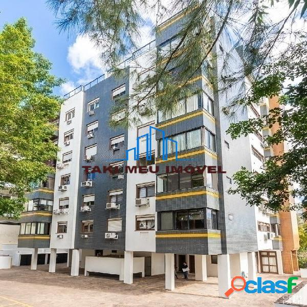 Apartamento de 3 dormitórios sendo 1 suíte master com hidro de 166 m² e 3 v