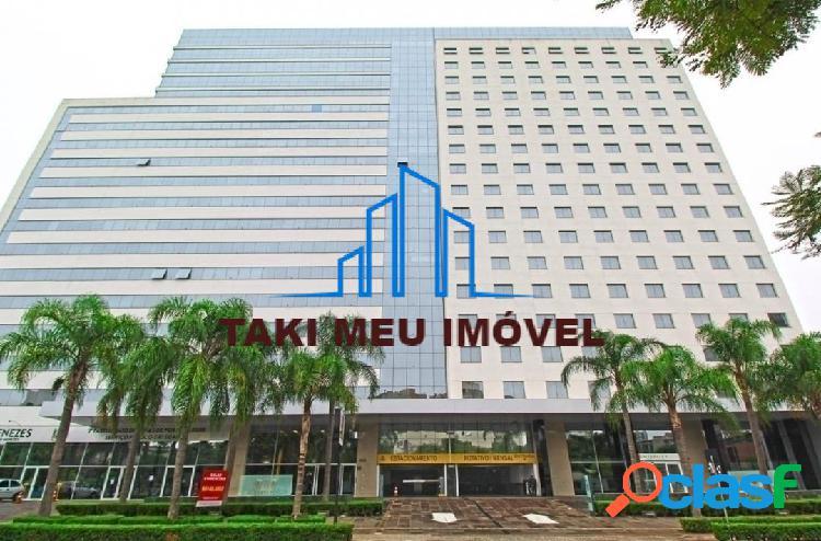 Excelente flat de 1 dormitório, mobiliado, com 23,81m², em andar alto