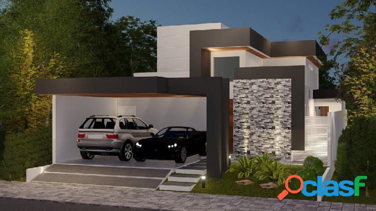 Linda casa térrea em construção - Altos da Serra VI 1