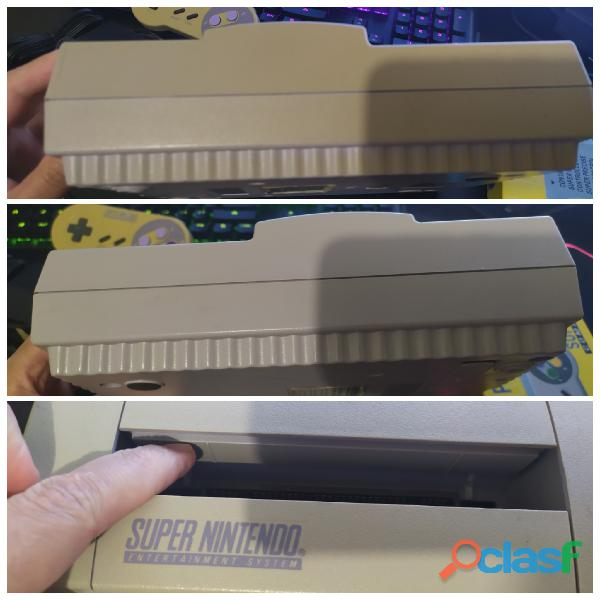 Super nintendo fat completo