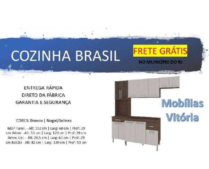 Cozinha brasil - frete grátis no município do rj