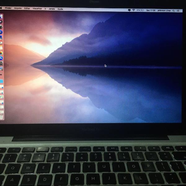Macbook pro mid 2010 - 10gb ram - 120gb ssd e 750gb hdd