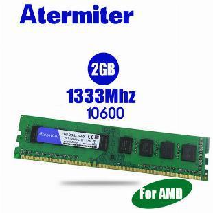 Memória atermiter 4gb (2x 2gb) ddr3 1333mhz para amd
