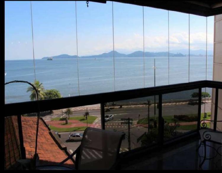 Apartamento espetacular vista do mar - alto padrão