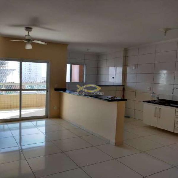 Apartamento com 1 dorm, guilhermina, praia grande - r$ 180