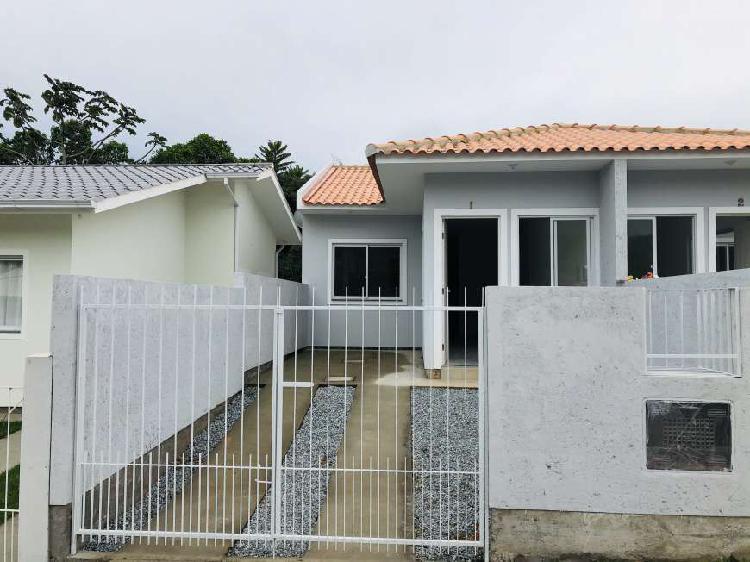 Base imobiliária vende! casa nova geminada no bairro bela