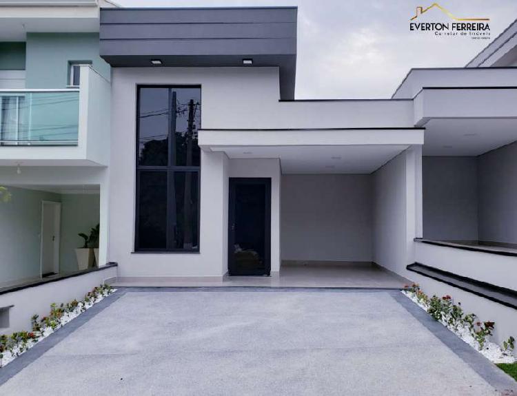 Casa de condomínio para venda possui 117 metros quadrados